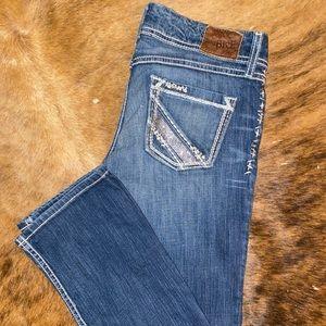 BKE Women's Sabrina Bootcut Blue Jeans